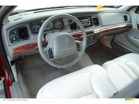light graphite interior 2000 mercury grand marquis ls