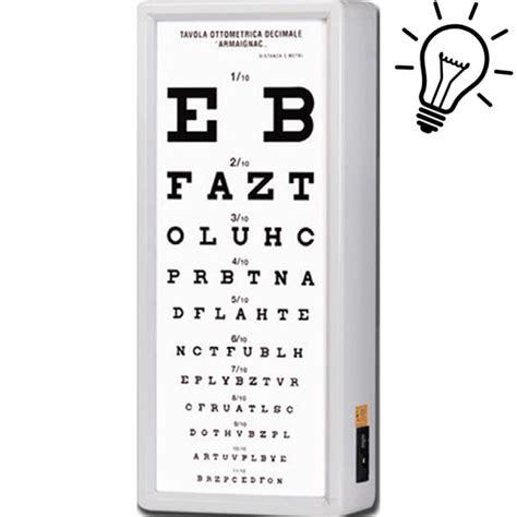 tavole optometriche ottotipo tavola optometrica armagnac distanza di