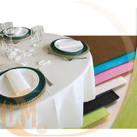nappe pour table ronde 1307 nappe ronde jetable en papier non tiss 233 diam 240 cm