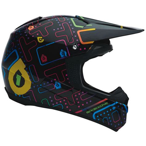 Sixsixone Fenix Arcadium Motocross Helmet Protection