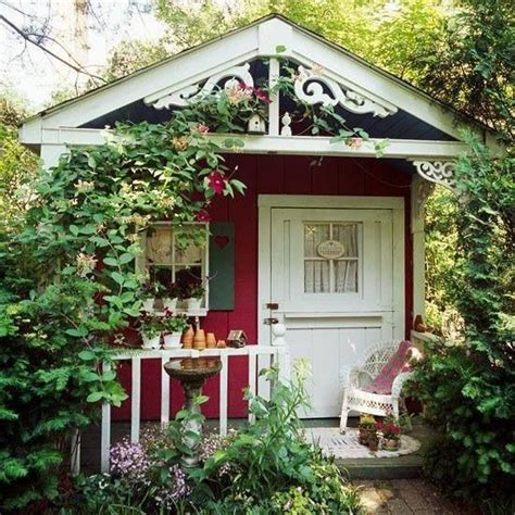 cute garden sheds cute garden shed outdoors pinterest