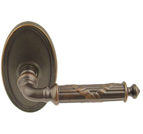 Emtek Door Handles by Emtek Ribbon Reed Brass Lever Door Handle Shop Door