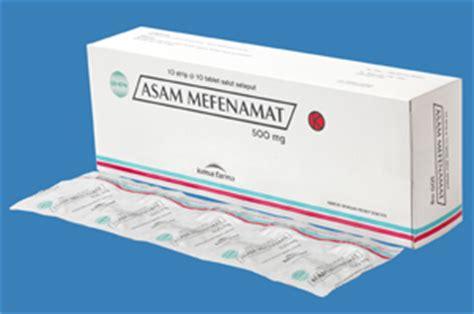 Obat Asam Mefenamat asam mefenamat minum 500 mg dulu baru 250 mg