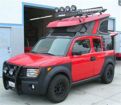 Camper Van Toaster Beefcake Honda Element Offroad Ecamper Camping