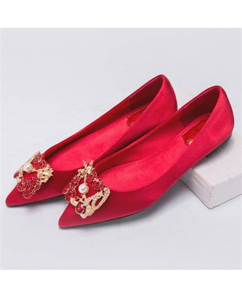 colored wedding shoes simple color wedding flat shoes for brides ala 6821