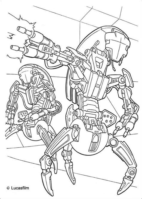 star wars n 27 desenhos para colorir de rob 244 s pt hellokids com