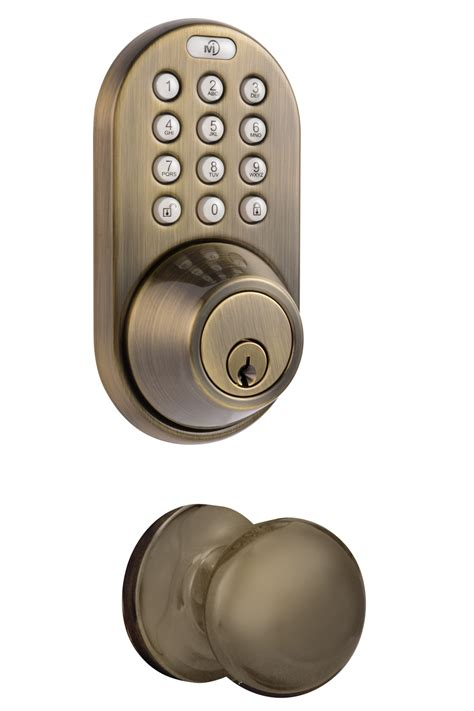 Deadbolt With Knob by Milocks Xfk 02 Keyless Entry Deadbolt And Knob Door Lock