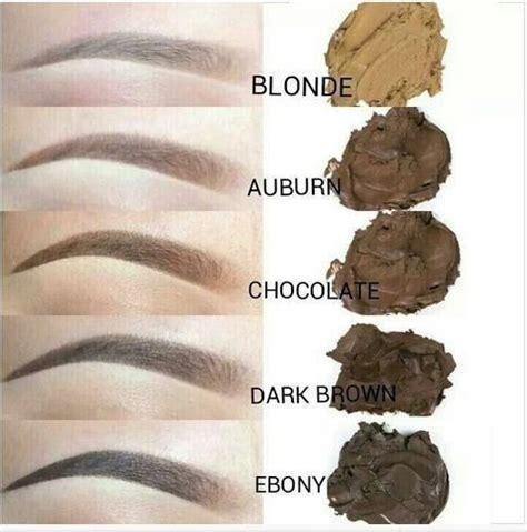 dipbrow colors different microblading shades microblading pigment