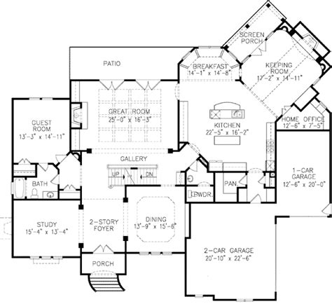 house plan with front kitchen normandy manor house plan french normandy style house plans home design and style