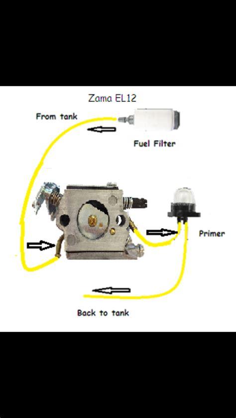 Craftsman Leaf Blower Fuel Line Routing Diagram