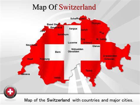 powerpoint design jura switzerland powerpoint maps detailed map of switzerland