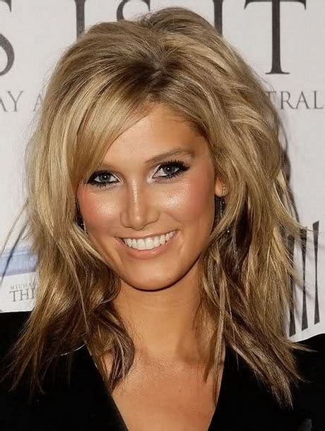 haircuts for round face long hair with layers long hair layered haircuts for round faces