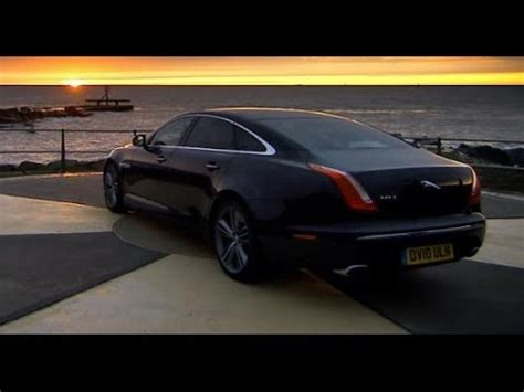 jaguar on top gear race with the the new jaguar xj top gear