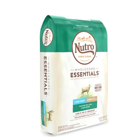 nutro max large breed puppy nutro wholesome essentials large breed puppy pasture fed rice recipe