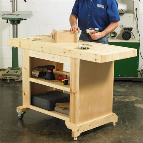best portable work bench budget friendly workbench woodworking plan workshop