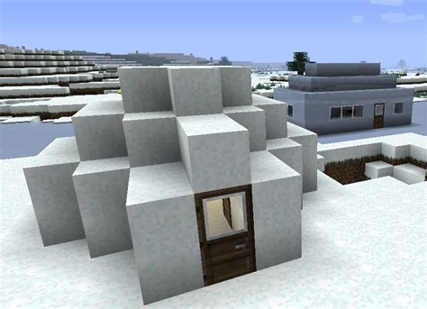 igloo house igloo and ice house minecraft project