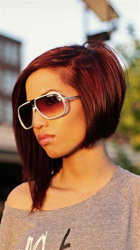 edgy dramatic hairstyles dramatic asymmetric bob c u t i t pinterest bobs