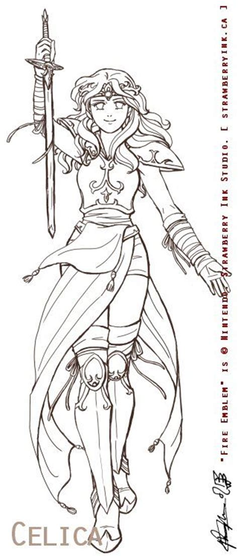 warrior girl coloring page female anime warrior coloring pages pinterest anime