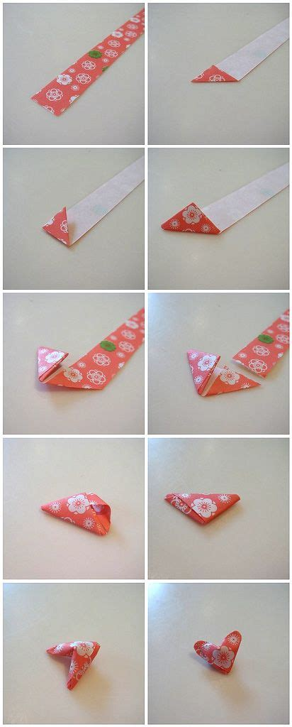 How To Make Small Paper - how to make small origami hearts wisemind studios