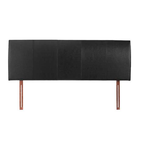 black leather king size headboard buy black king size 5ft headboard faux leather hamburg