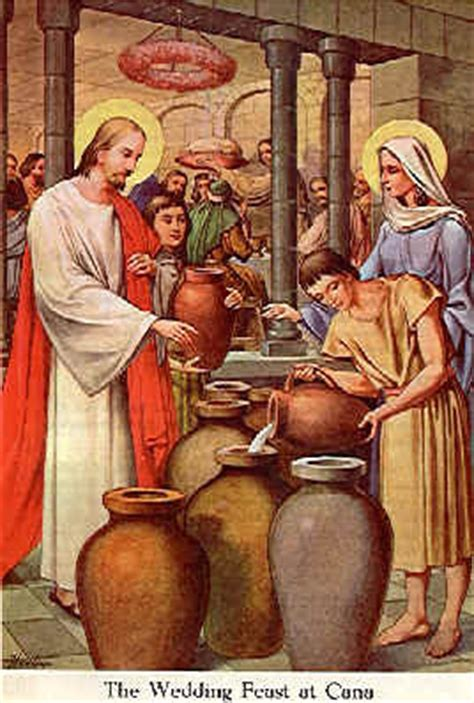 Wedding Of Cana Bible Verse by Jesus And Christian Pictures Jesus Changes Water