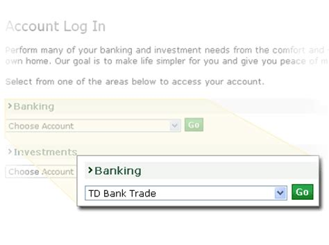 td canada trust small business easyweb internet banking