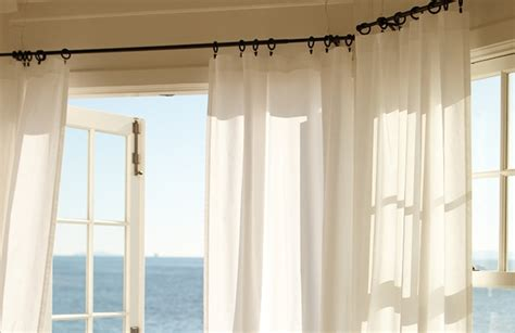 Easy Way To Hang Curtains Decorating How To Hang Curtains Drapes With Picture Ideas