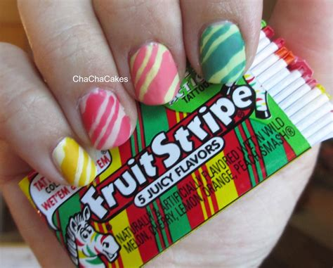 gum tattoo zebra stripes gum