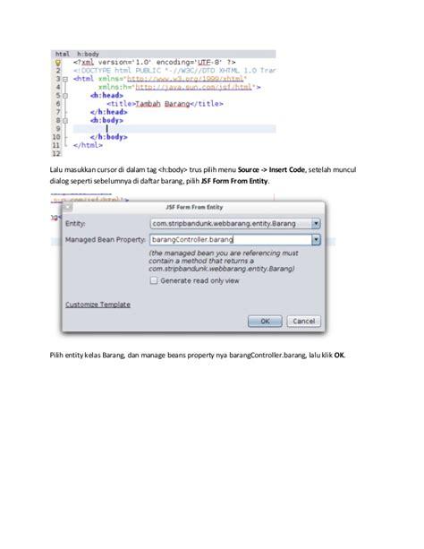 membuat aplikasi java web enterprise sederhana membuat aplikasi java web enterprise sederhana