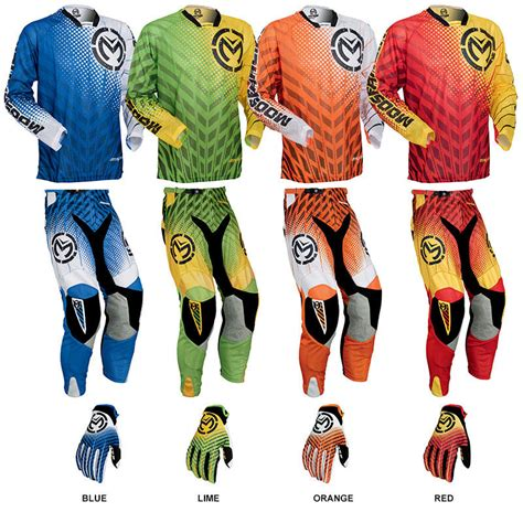 moose motocross gear vented motocross gear combos
