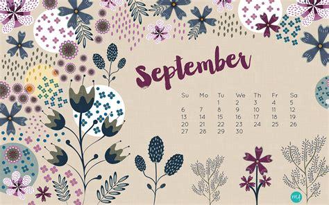Calendar September 2017 Wallpaper Free Desktop Wallpaper September 2015 Pinkepank