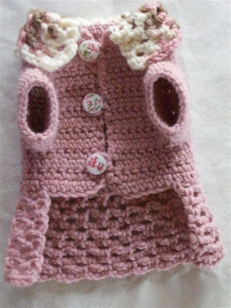crochet patterns for dog coats free free xxs crochet dog sweater pattern dancox for