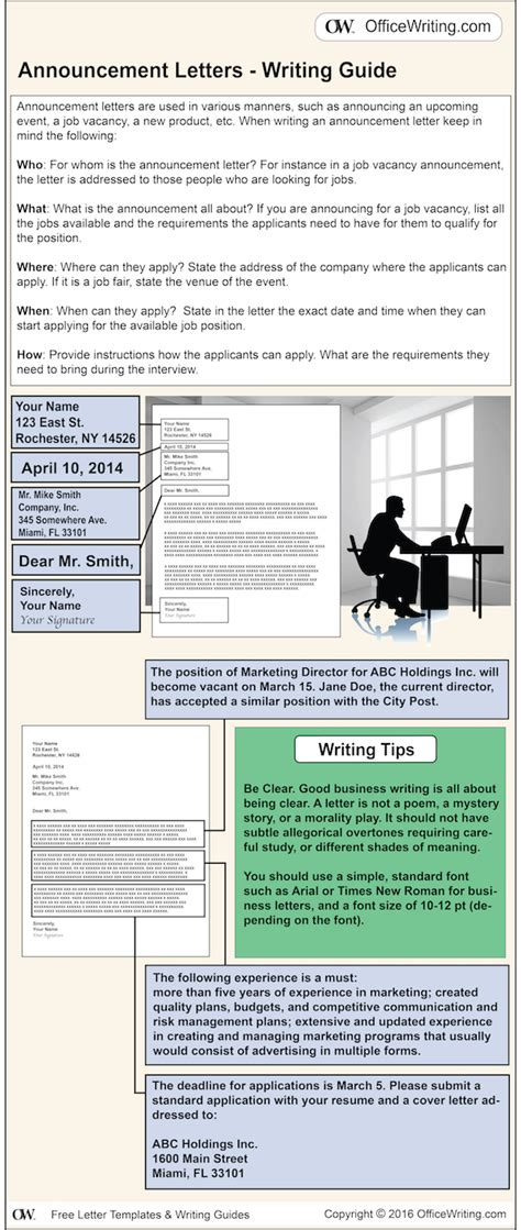 Letter Writing Infographics Letter Infographic Template
