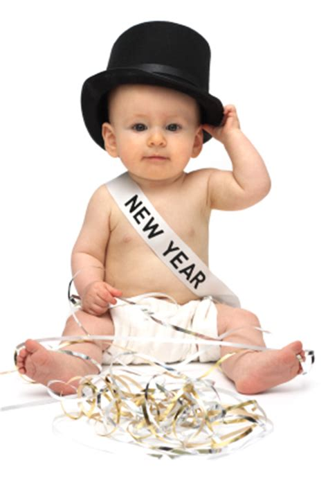 picture of baby new year my new plaid happy new years baby