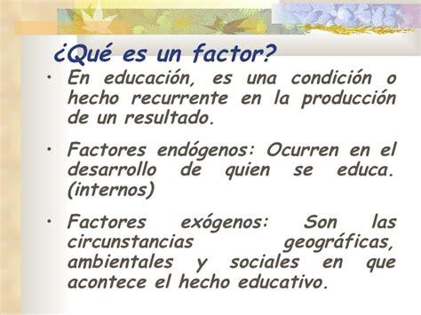 Que Es Un Mba En Educacion by Factores Que Inciden En La Educaci 243 N