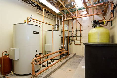 Boiler Room by New Construction Plumbing In Marlin Services
