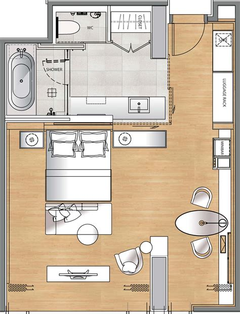 deluxe hotel room layout hotel gym floor plan google search hotel rooms