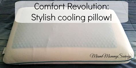 comfort revolution com comfort revolution stylish cooling pillow holiday gift