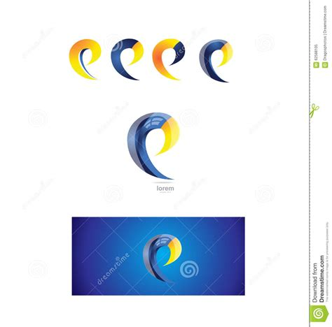 Letter E Logo Icon 3d Stock Vector Image 62588105 Vector Company Logo Element Template