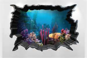 Aquarium Wall Stickers 31 amazing 3d wall art ideas that you would want to take