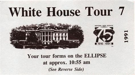 White House Tours Schedule by White House Ticket Flickr Photo