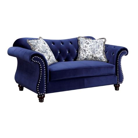 Tufted Sofa Sets by Furniture Of America 2 Tufted Sofa Set In
