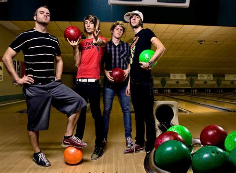 a for all time all time low bowling photoshoot 2008 all time low