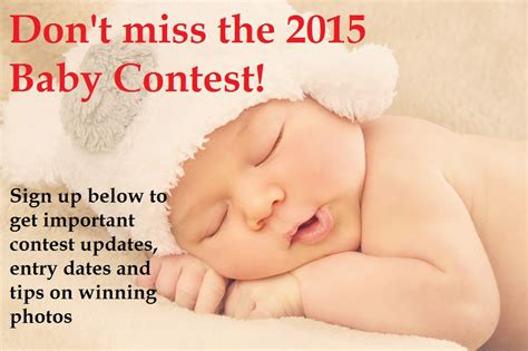 Baby Sweepstake - the 2015 gerber baby contest the cute baby contest