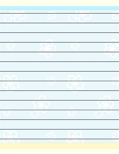 printable writing paper borders best photos of lined paper with borders template lined