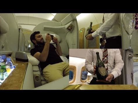 emirates youtube first class trip report emirates boeing 777 300er first class