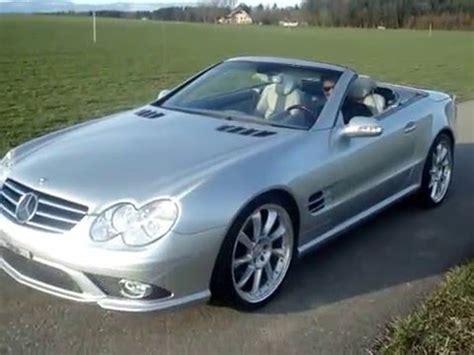 mercedes sl500 amg, sl55 cabrio r230, johnny white sound