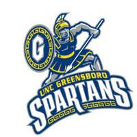 uncg colors the gallery for gt uncg spartan logo