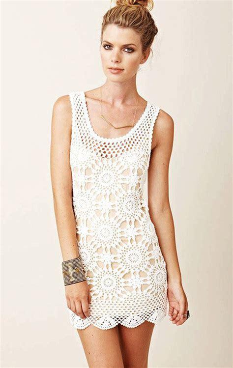 pattern for white dress wildflower crochet dresses pattern beautiful crochet stuff