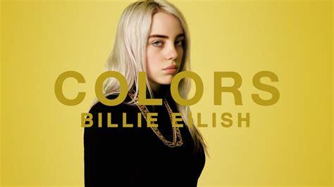 show in color billie eilish a colors show